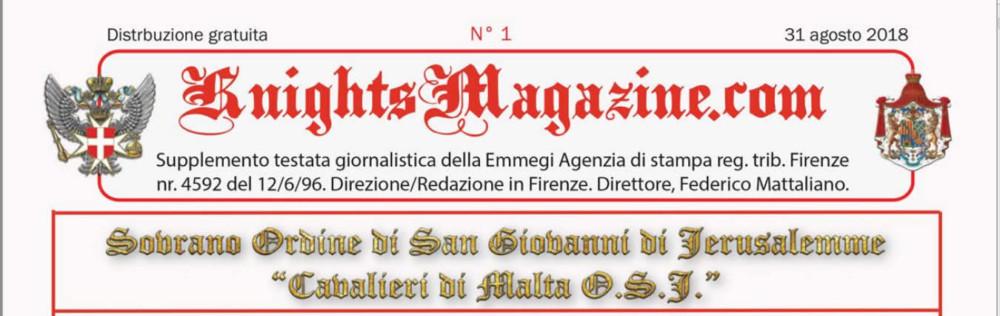 GIORNALINO CAVALIERI DI MALTA OSJ EDIZIONE GIUGNO/SETTEMBRE 2018