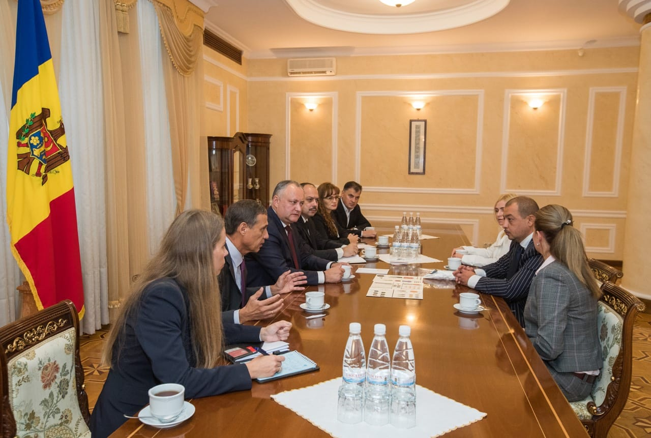 MISSIONE DI RAPPRESENTANZA IN REPUBBLICA MOLDOVA 7 DICEMBRE 2018