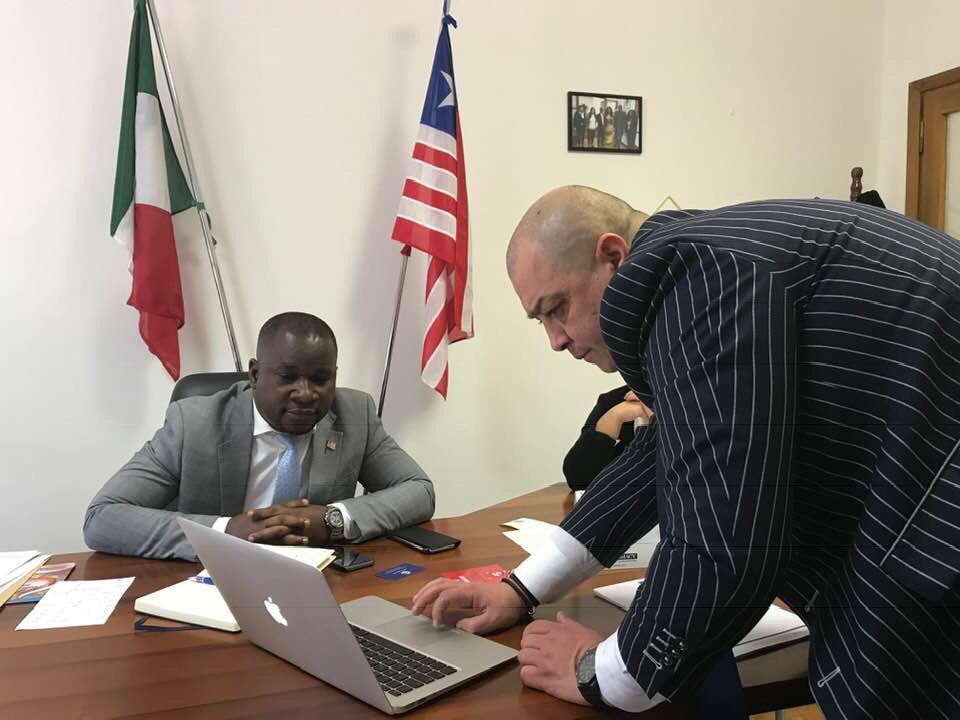 ORGANIZZAZIONE E MISSIONE PRESSO LA REPUBBLICA DI LIBERIA