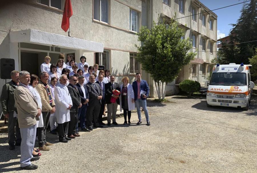 DONAZIONE DI UN'AMBULANZA IN ALBANIA
